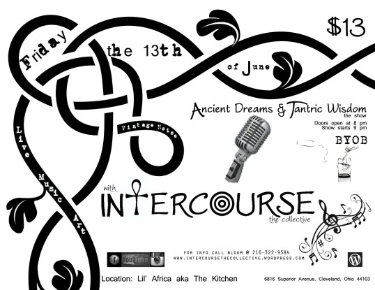Intercourse the Collective, June 13th at Lil' Africa