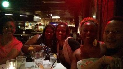 Family!! w/ Cousin Ki, Ginaya, Marcy, & Sharon
